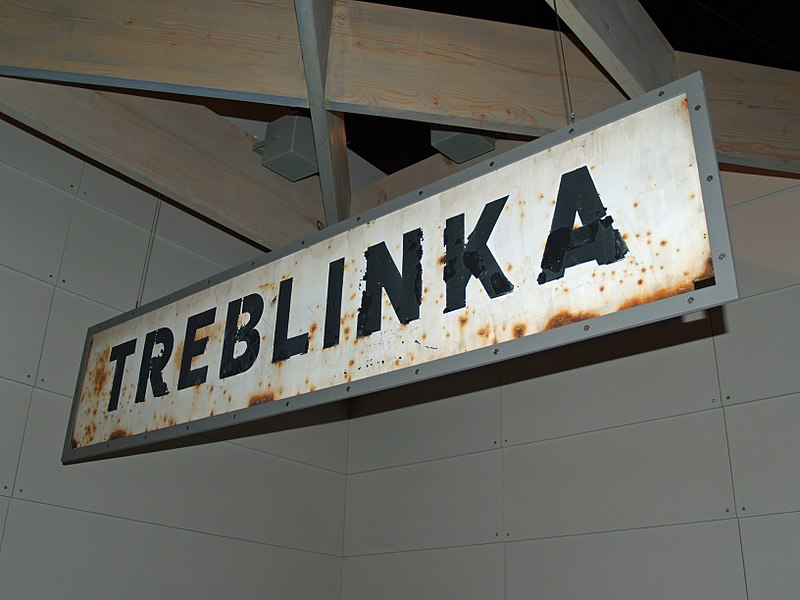 800px Treblinka Concentration Camp sign by David Shankbone