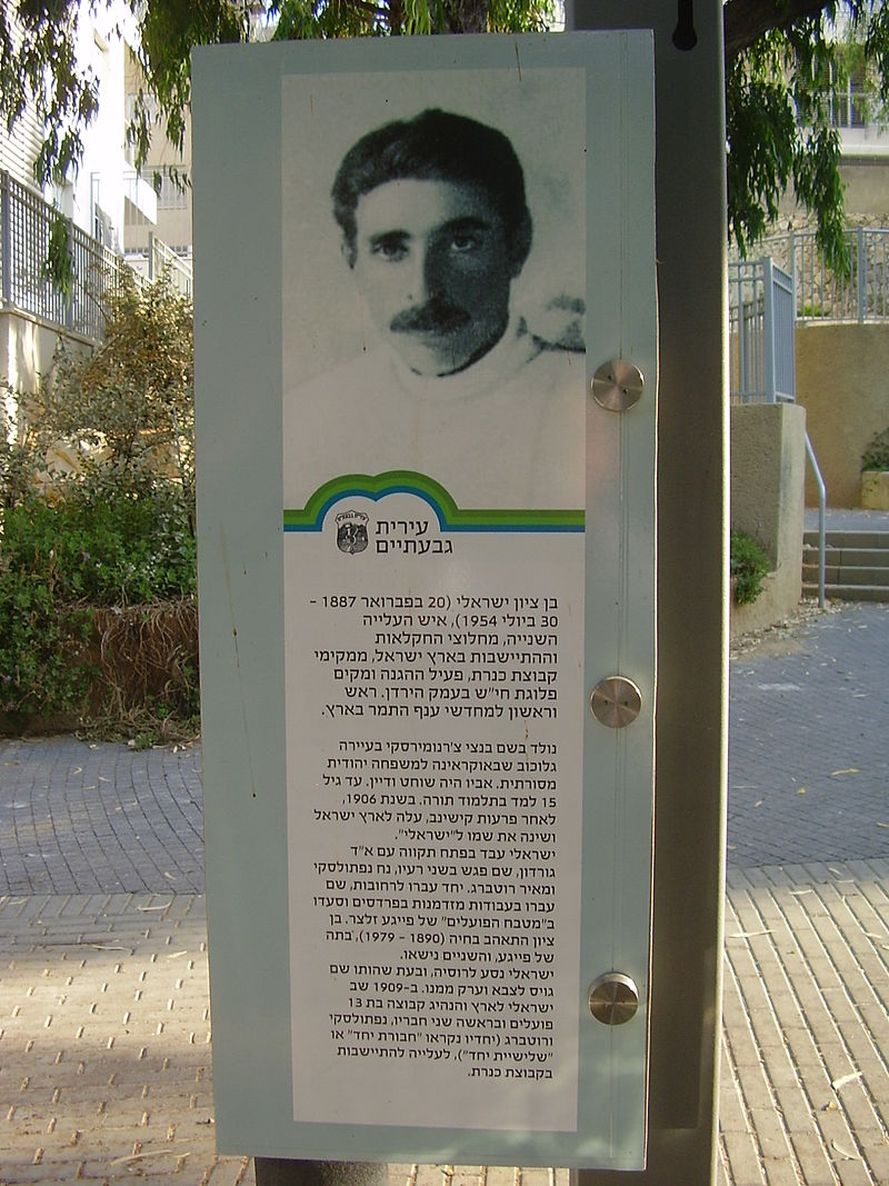 bebzion israel memorial in givataym
