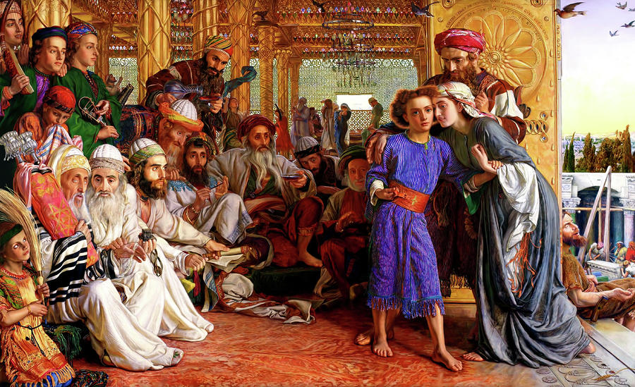 finding the savior in the temple william holman hunt
