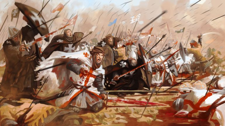 10 facts medieval crusader state armies