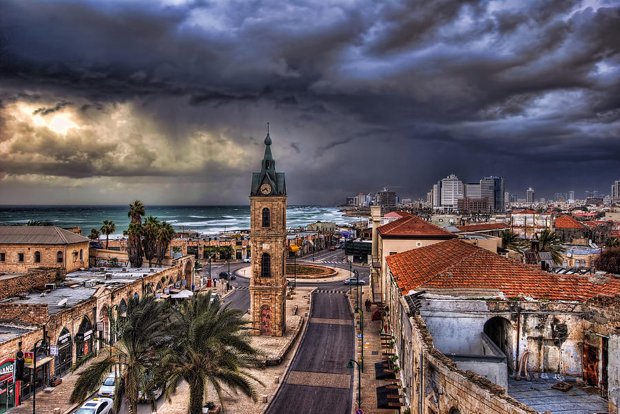 the jaffa old clock tower ronsho