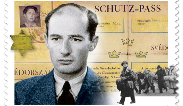 o RAOUL WALLENBERG STAMP